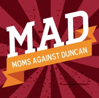MAD – Mothers Respond to Duncan