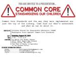 CommonCore Flyer