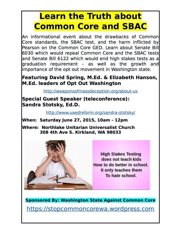 Learn the Truth About Common Core and SBAC revised