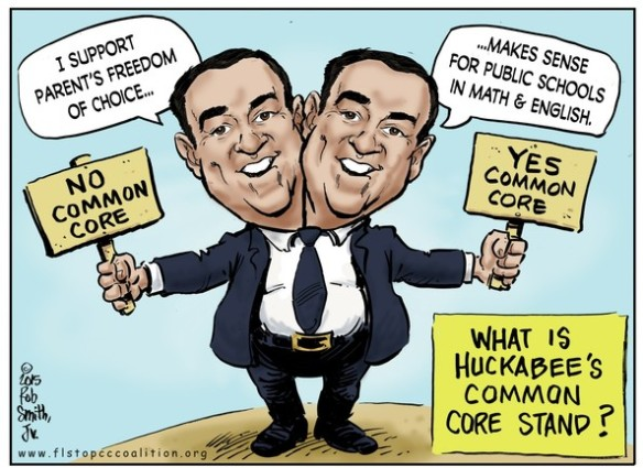 huckabee-common-core
