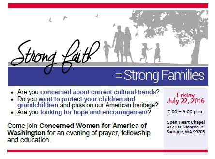 CWA StrongFaith.Families 7.22.16